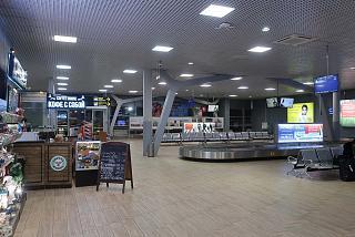 Зал выдачи багажа в аэропорту Краснодар Пашковский