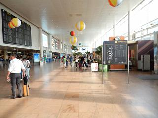 Зона вылета в аэропорту Брюсселя