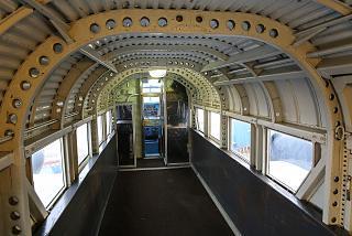Кабина самолета Юнкерс Ю-52 в музее техники в Зинсхайме