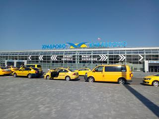 The passenger terminal of the Khrabrovo airport after reconstruction