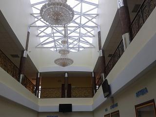 Потолок аэровокзала в аэропорту Бугульма