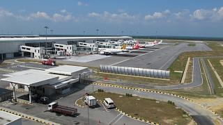 Planes have low-cost terminal KLIA2 airport in Kuala Lumpur