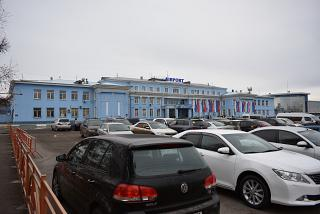 Airport's international terminal Irkutsk