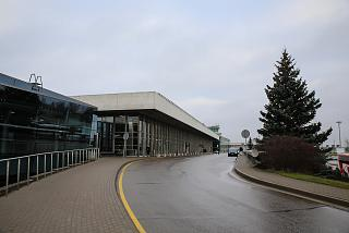 The terminal of the airport Riga