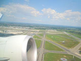 Взлет из аэропорта имени Джона Кеннеди