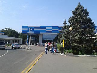 Terminal B of the airport Simferopol