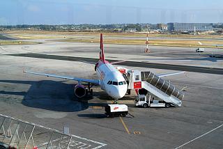 Airbus A319 Air Malta airport Malta
