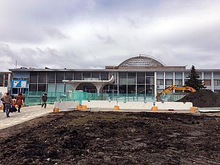 Реконструкция аэровокзала в аэропорту Храброво