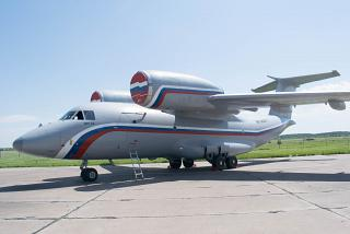 Antonov an-72 military-transport aircraft of Russia