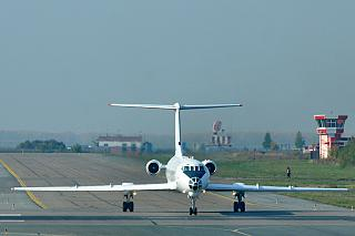 Самолет Ту-134 авиакомпании Центр-Юг