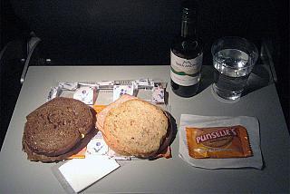 Питание на рейсе Амстердам-Марсель авиакомпании КЛМ