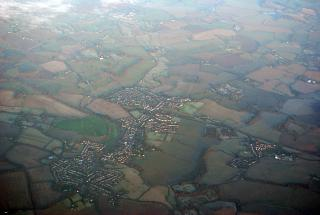 The town of Chipping Ongar in the UK