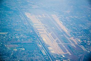 Top view of airport Bangkok, don Mueang
