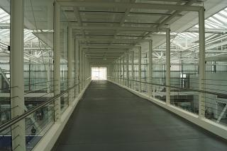 Corridor Skywalk in Terminal 2 of Munich airport