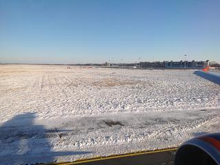 Летное поле аэропорта Калининград Храброво