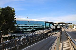 The passenger terminal of the airport of Valencia