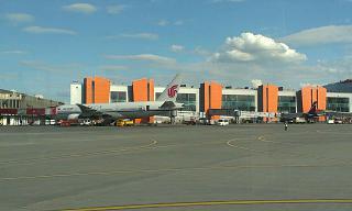 Terminal E of Sheremetyevo airport