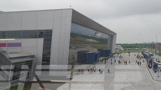 The passenger terminal at the airport Vladivostok Knevichi