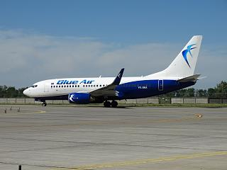 Boeing 737-700 YR-BMA airline Blue Air at Boryspil airport