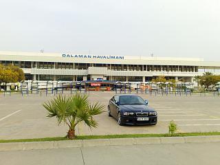 The terminal of Dalaman airport