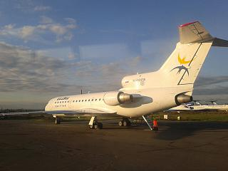 The plane Yak-42 of airline Izhavia