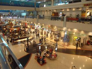 Gallery of shops at the Dubai airport
