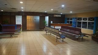 Вход в бизнес-зал Международного аэропорта Сейшельских островов