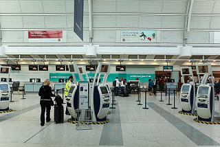 The reception area is WestJet airlines is in terminal 3 of Toronto Pearson international airport