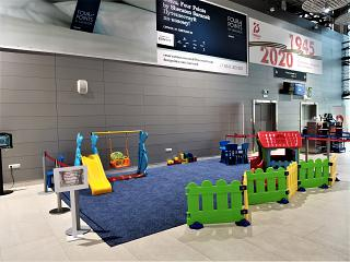 Children's play area at Saransk airport