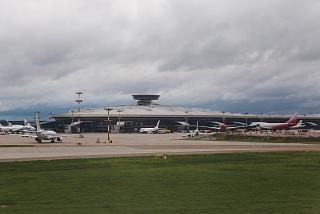 Passenger terminal A of Vnukovo airport