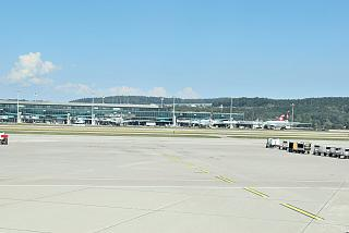 Pier E of Zurich airport