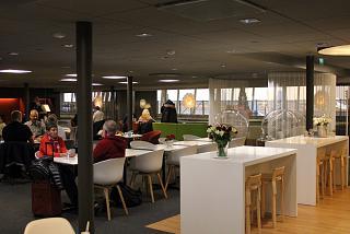 Бизнес-зал Aspire Lounge в терминале 2 аэропорта Хельсинки Вантаа