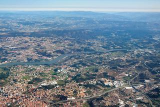 Dourou River in the vicinity of Porto