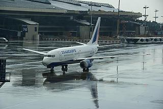 Boeing 737-700 of Transaero at Vnukovo airport