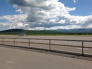 Перрон аэропорта Магадан Сокол