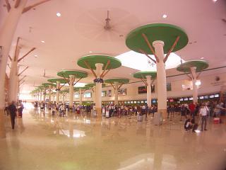 Зал регистрации пассажиров в аэропорту Пунта-Кана
