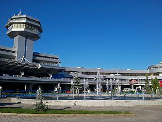 Station square airport Minsk national