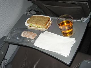 Free food on the flight from Moscow to Vienna is Niki