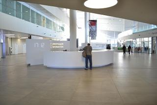 Information Desk in Terminal 1 of the airport to Samara Kurumoch