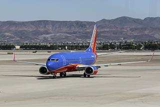 N384SW Boeing 737-300 Southwest airlines at the airport Las Vegas MC Karan