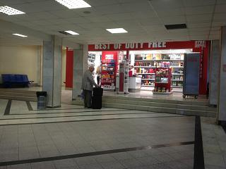 Shop duty-free at the airport Odessa