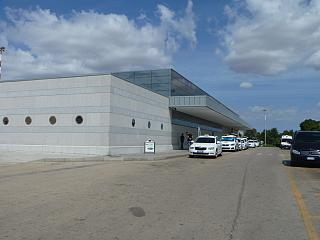 The passenger terminal of the airport of Alghero Fertilia