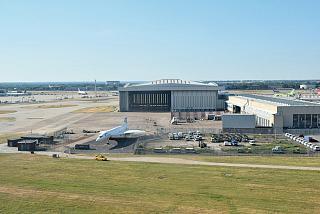 Самолет Concorde в аэропорту Лондон Хитроу