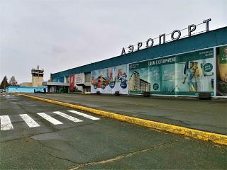 The terminal of the airport Izhevsk