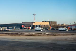 Грузовой терминал аэропорта Москва Шереметьево