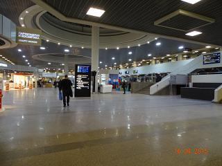 Updated the terminal Pulkovo-1 (sector D of the passenger terminal)