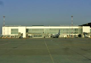 The international sector of airport Saint Petersburg Pulkovo