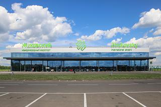 The passenger terminal of the airport Zhukovskiy