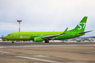 Boeing-737-800 VP-BNG S7 Airlines at Domodedovo airport