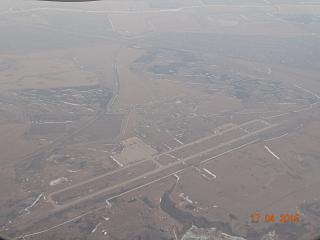 Строящийся аэропорт Омск Федоровка